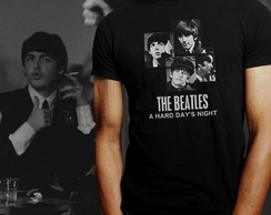 Camiseta The Beatle s: Hard Days Night 1