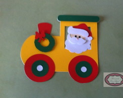 Papai Noel no trem