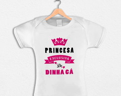 Body Infantil Princesa Exclusiva