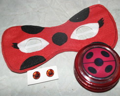 Kit Miraculous Lady Bug