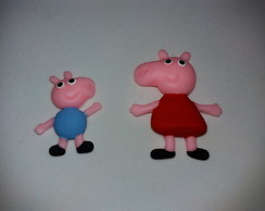 Aplique Peppa Pig ,George pig