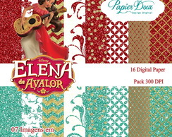 Kit Elena de Avalor - Glitter