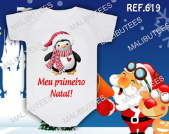 Body Natal Pinguim Natalino