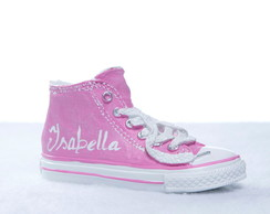 Cofrinho Personalizado All Star Rosa