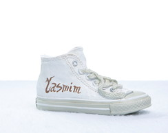 Cofrinho Personalizado All Star Beige