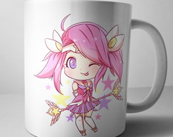 Caneca League of Legends Lux