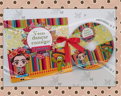 DVD/ CD personalizado Frida Kahlo