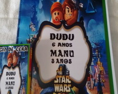 kit de colorir do Star Wars