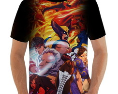 Camiseta Marvel vs Capcom