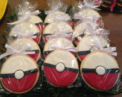 Biscoito Decorado: Pokebola