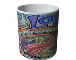 CANECA MANDALA HIPPIE ONE LOVE-8424
