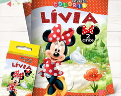 Kit Revista + Giz Minnie