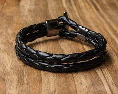 Pulseira Be Style Black
