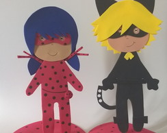Lady Bug e Cat Noir - Kit