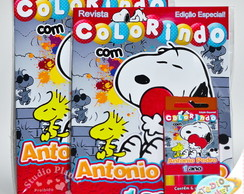 Kit de colorir Snoopy