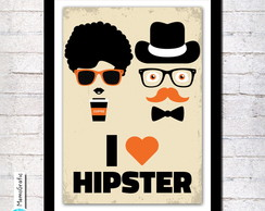 Poster A3- Hipster