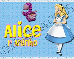 Arte Garrafinha Exclusiva - Alice