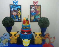Mesa Decorada Pokemon