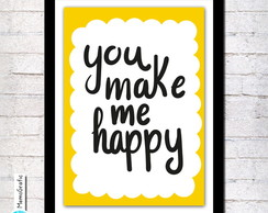 Poster A3-You make me happy