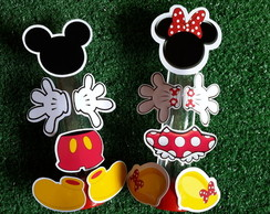 Tubetes minnie ou Mickey