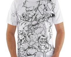 Camiseta Street Fighter