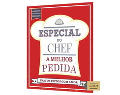 Placa MDF Especial do Chef - 874