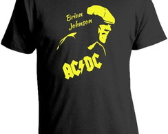 Camiseta AC - DC - Brian Johnson