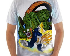 Camiseta Cell vs Vegeta
