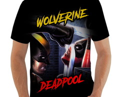 Camiseta Wolverine vs Deadpool