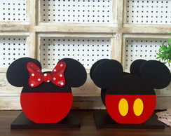 Duo Porta Guardanapo Mickey e Minnie