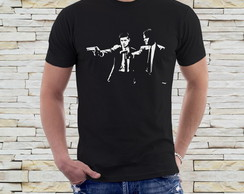 Camiseta Supernatural - Pulp Fiction