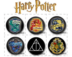 Bottons Harry Potter (com 6)