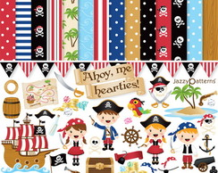 Kit Scrap Digital Piratas