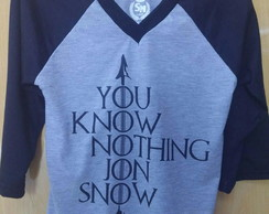 Camiseta Game of Thrones (GOT)