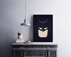 "Placa decorativa ""Batman"""