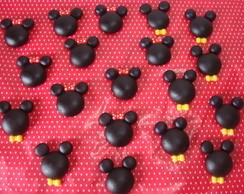 Aplique Perfil Mickey ou Minnie Biscut