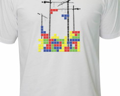Camiseta Tetrix Retro Game Atari