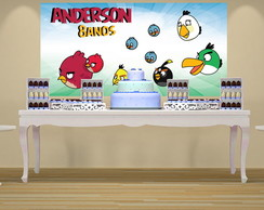 PAINEL PARA FESTA INFANTIL - ANGRY BIRDS