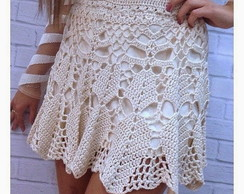 Saia Sublime Off white Crochet