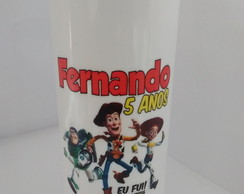 Copo Long Drink acrílico 340ml Toy Story