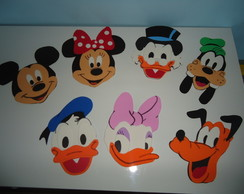 Aplique Turma do Mickey
