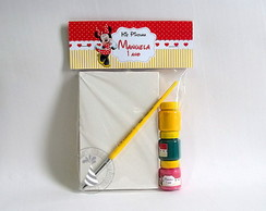Kit Pintura - Minnie Vermelha