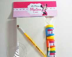 Kit Pintura - Minnie Rosa