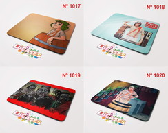 Mouse Pad Chaves Kiko Chiquinha Isso