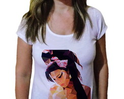 Camiseta Feminina Amy winehouse 3