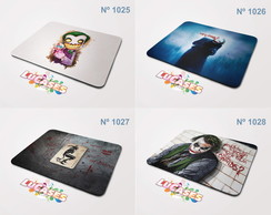 Mouse Pad Joker Coringa Clown Batman