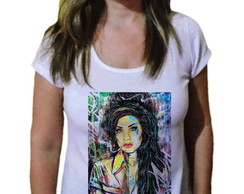 Camiseta Feminina Amy winehouse 11