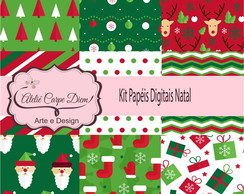 KIT PAPEL DIGITAL NATAL I