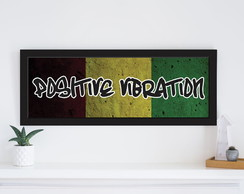 Quadro Reggae Positive Vibration