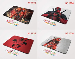 Mouse Pad Deadpool Dead Pool Herói Hero